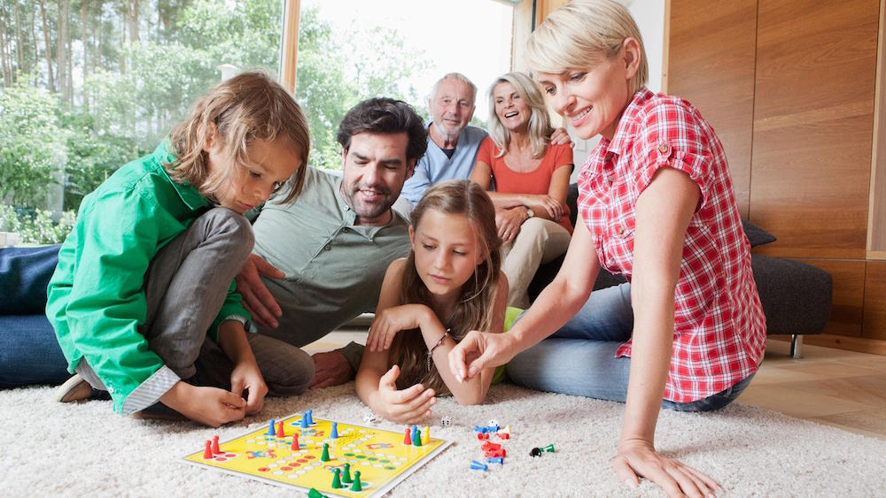 Board Games Family Night