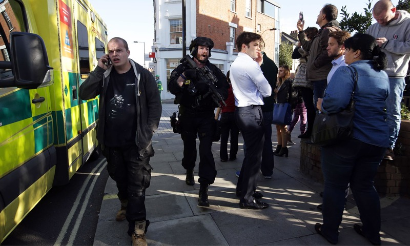London Tube Terror Attack